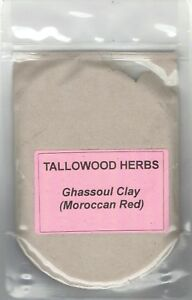 100-Pure-Organic-Moroccan-Red-Ghassoul-Rhassoul-Clay-30-200g-packs