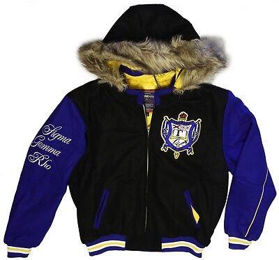 Blue//Golden Yellow NEW Sigma Gamma Rho Sorority Inc Twill Jacket