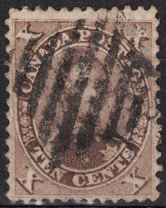 Canada-1859-10c-Prince-Albert-Scott-17b-VF-used-catalogue-200