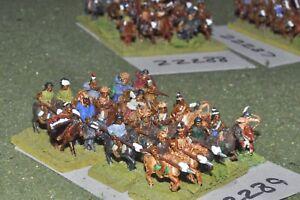15mm Acw / Indian - Old West Warriors Cavalerie Cavalerie à 20 chiffres (22289)