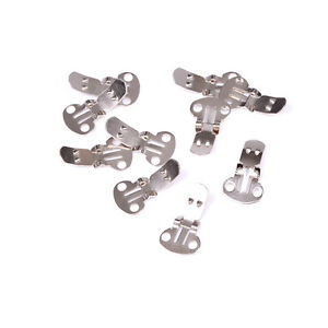10-20Pieces-Blank-Stainless-Steel-Shoe-Clips-Clip-on-Findings-for-Wedding-MSE