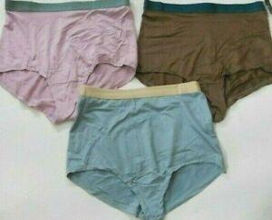 3 Pack Vanity Fair Soft Essentials Brief Panties Nylon Spandex MIX Colors sz 7