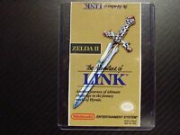 Zelda Ii 2 Legend Of Link Nes Cartridge Replacement Game Label Sticker Precut