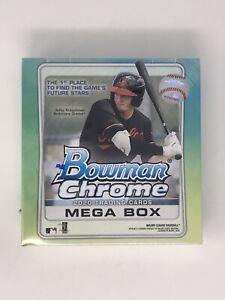 TOPPS-2020-Bowman-Chrome-Mega-Box-Baseball-Trading-Cards-Sealed-brand-NEW