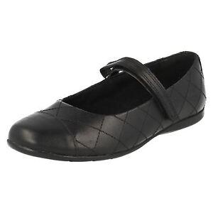 Clarks Details Roxy Schule Schwarze Schuhe Ausverkauf 'tanz 'mädchen Zu Lederschuhe Schmal VSUzMp