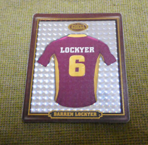 AA-2009-BRISBANE-BRONCOS-RUGBY-LEAGUE-FOOTY-FRAME-TAZO-1-DARREN-LOCKYER