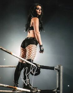 PAIGE-Saraya-Jade-Bevis-Authentic-Hand-Signed-034-WWE-DIVA-CHAMP-034-11x14-Photo-D