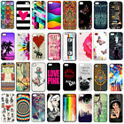 Painted New pattern Plastic Hard back Case cover For iphone 4s 5s SE 5c 6 7 plus
