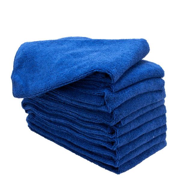 Microfiber Detailing Towels: 20 Pack Microfiber Towels Cleaning Towel Plush 16x16 300