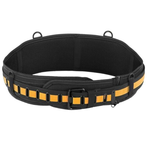 TOUGHBUILT Padded Belt with Steel Buckle and Back Support Adjustable Work Belt