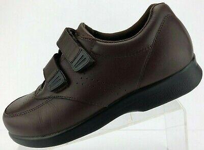 Propet Vista Strap Shoes Diabetic Brown