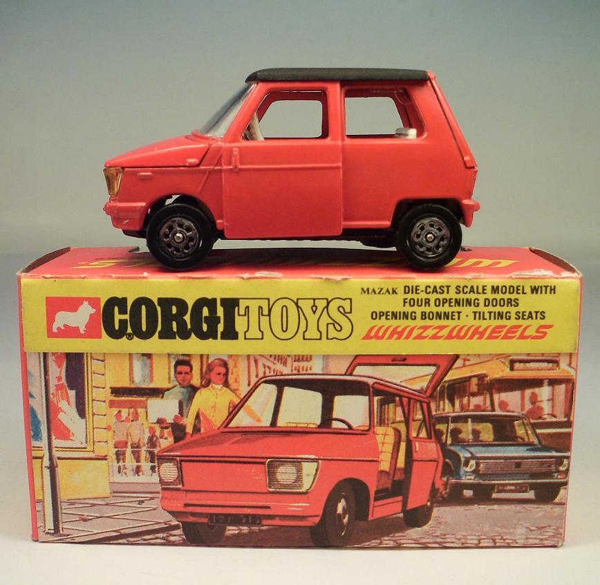 Corgi Toys Whizzwheels 283 OSI DAF City Car OVP