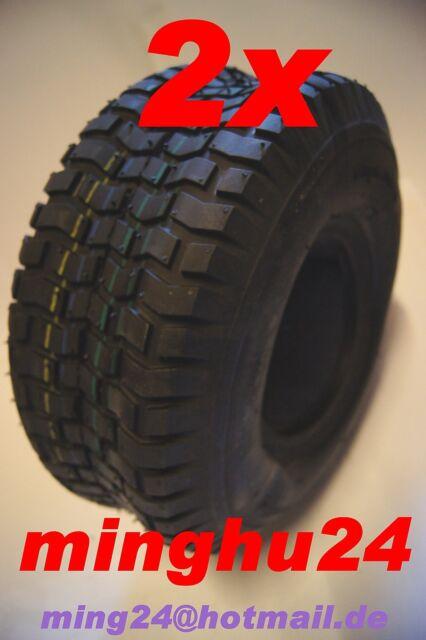 2 Rasenmäherreifen Aufsitzmähereifen 16x6.50-8 Rasentraktor TL Reifen 16x6.50-8