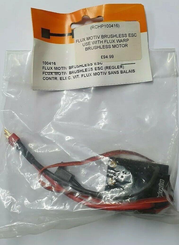 HPI 100416-FLUX MOTIV Brushless ESC