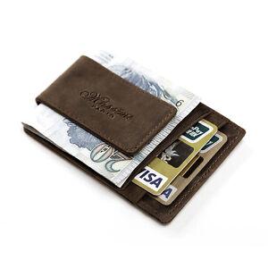 image is loading quality men casual credit card holder leather wallet - Money Clip Credit Card Holder