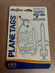 McDonnell-Douglas-MD-80-Aircraft-Skin-Plane-Tag-Planetags-Free-Shipping
