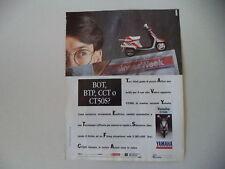 advertising Pubblicità 1990 YAMAHA CT 50 S