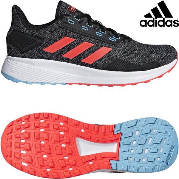 Adidas Duramo 9 Mens Black Black Black Red BB6919 Running shoes Size e74ce8