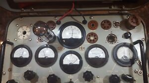 TV-2A-U-Military-tube-tester-recapped-calibrated-and-ready-to-go
