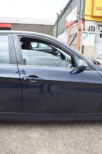 2006 BMW 3 SERIES RIGHT HAND DRIVERS SIDE FRONT DOOR - MONACOBLAU METALLIC (A35)