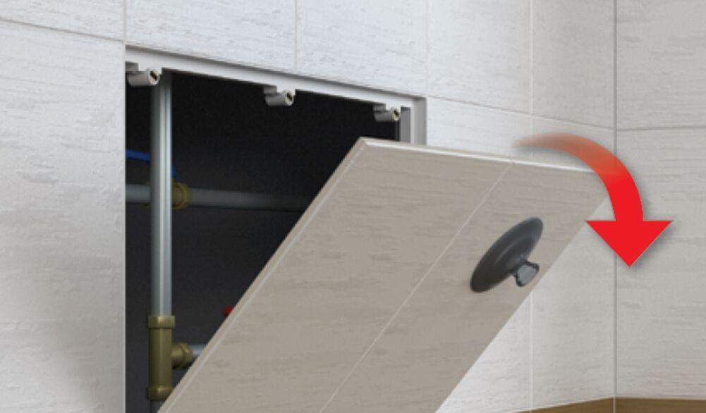Sportello per contatore magnetico piastrellabile | Forte calore e resistenza resistenza resistenza al calore  | Gli Ordini Sono Benvenuti  | Prestazione eccellente  65ac55