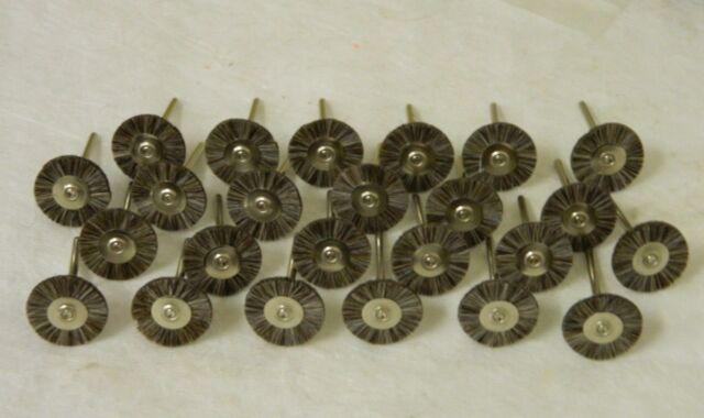 "12 x 1//8/"" Shank Bristle Qty Congress Tools Wheel Brush No 144 USA #BR12B"