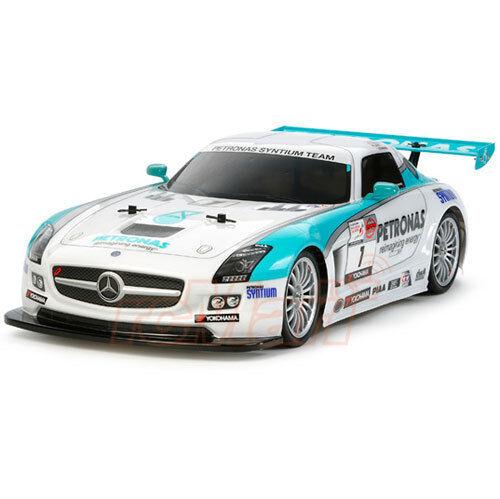 New Tamiya Mercedes Petronas SLS AMG GT3 Body Parts For Most 1 10 TT02 TT01 TL01