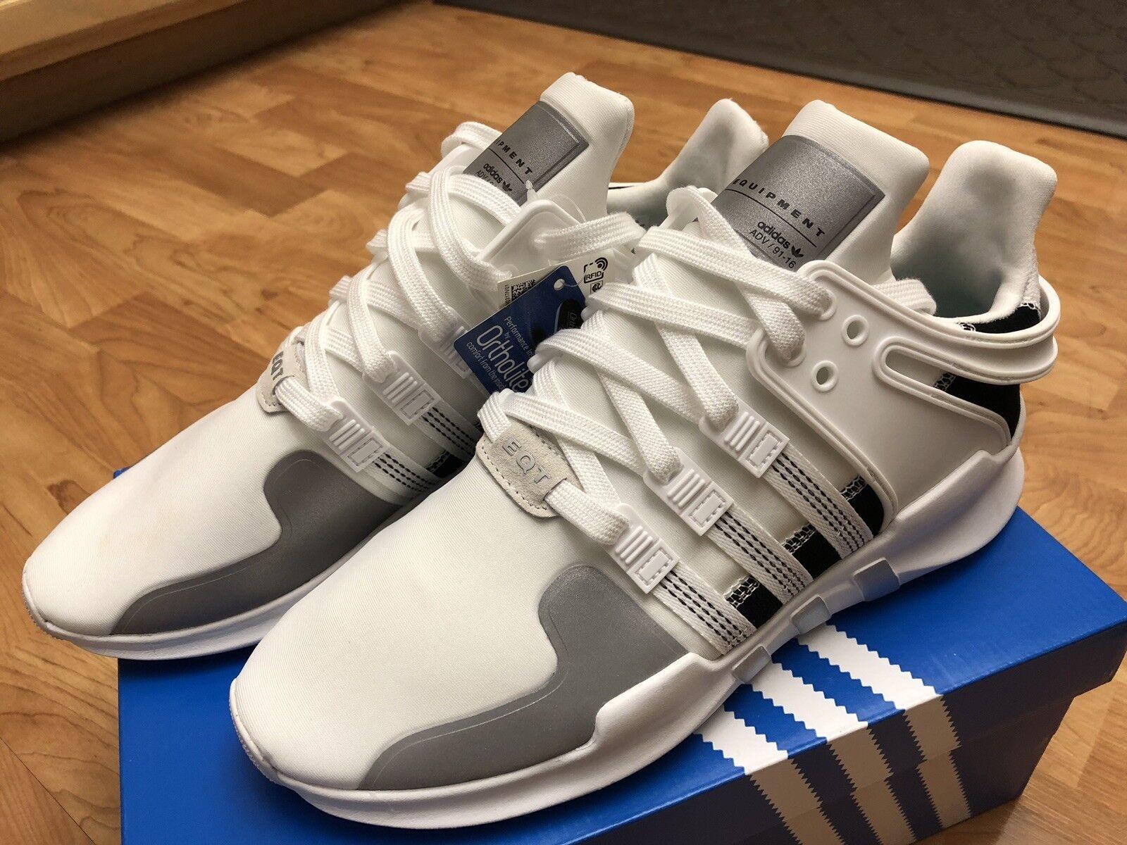 NEW RARE Adidas Equipment EQT Support 91 16 ADV WHITE blueE Size 11.5