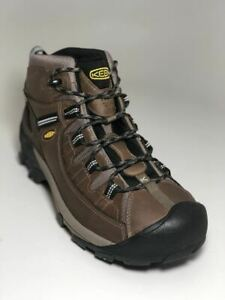 8fecfee1c2f Details about Keen Men's Targhee II Mid Wide WP Shitake Brindle Boots  1012126