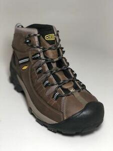 4171e93cfa9 Keen Men s Targhee II Mid Wide WP Shitake Brindle Boots 1012126