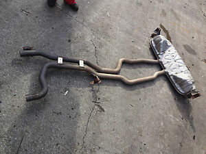Image Is Loading Porsche Cayenne Turbo Exhaust System 955