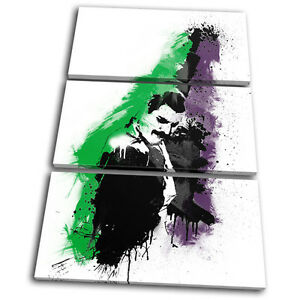 Musical Freddie Mercury Abstract Treble Canvas Wall Art
