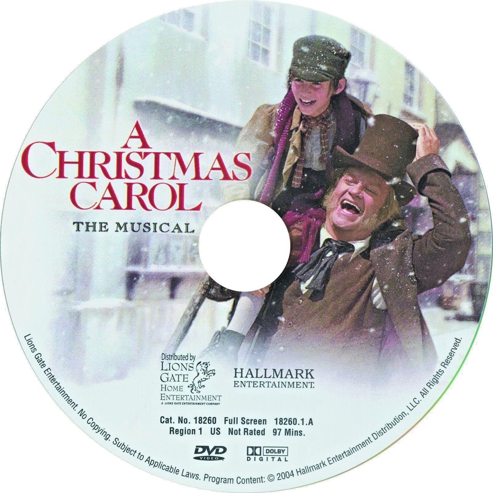A Christmas Carol - The Musical (DVD, 2005) | eBay