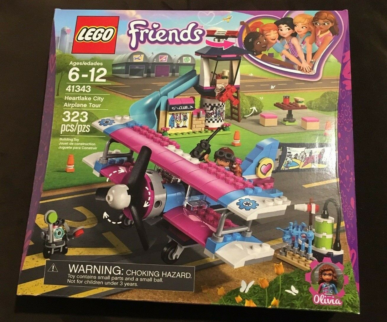 NEW LEGO Friends Heartlake City City City Airplane Tour 3b2732