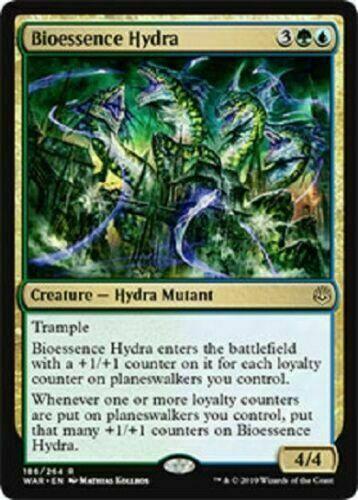 BIOESSENCE HYDRA X4 NM WAR OF THE SPARK MTG MAGIC ~NOSTALGIC TREASURES~