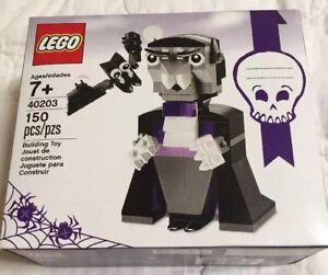 2016 LEGO SEASONAL HALLOWEEN SET #40203 VAMPIRE AND BAT NIB XMAS RARE!!!