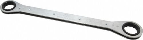 """Double End Ratcheting ... Nickel Chrome Finish 12 Point Lang 1-1//16 x 1-1//4/"""""""