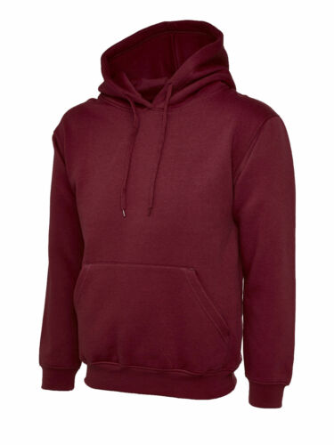 Uneek UC508 Olympic Hooded Sweatshirt Unisex Womens Mens Hoodie Jumper Sweater