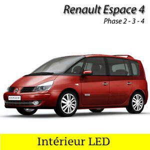 Satz Beleuchtung Innenraum mit Glühbirnen mit weiße LED für Renault ...