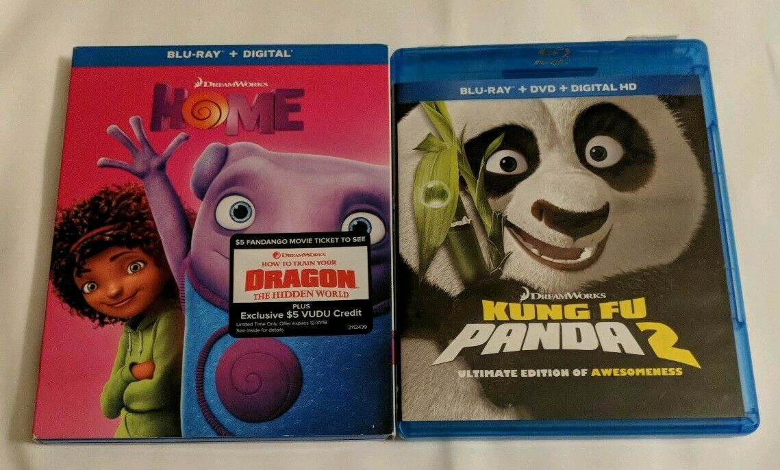 Kung Fu Panda 2 Blu Ray Dvd For Sale Online Ebay