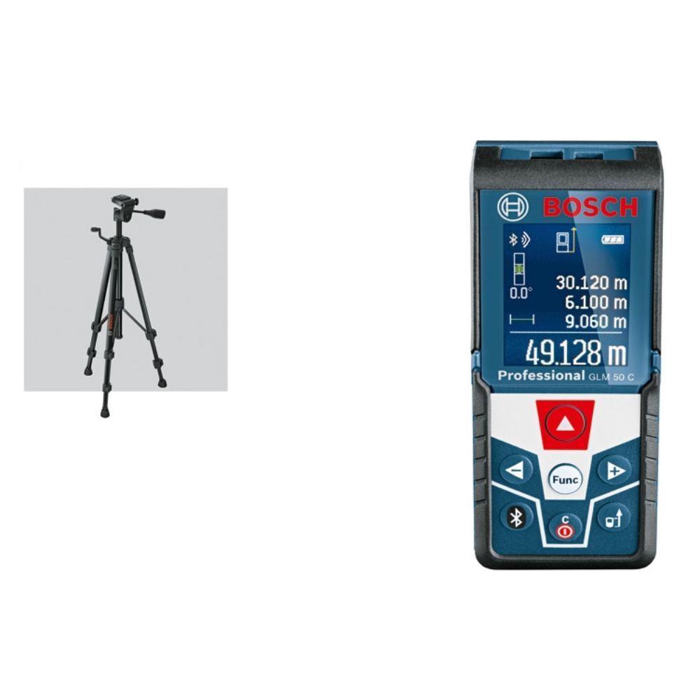 Bosch Laser-Entfernungsmesser GLM 50 C, mit Baustativ BT 150