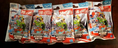 Transformers Rescue Bots aveugles Sac série 1-Lot de 5 Blind Bags