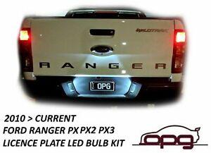 LED Licence Registration Plate Lamp Bulbs for Ford Ranger PX PX2 PX3 2012 > 2020