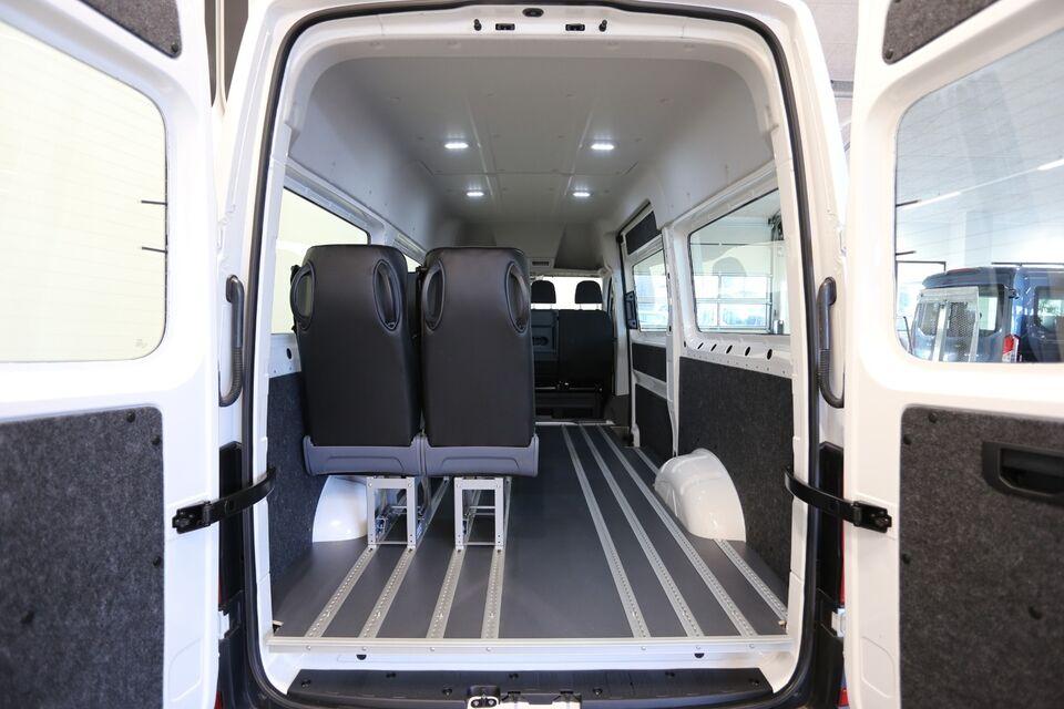 VW e-Crafter 35 aut. El aut. Automatgear modelår 2020 km