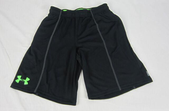 NWT Nike Boys YMD//YLG Gray//Lime Green Camo Dri-Fit Shirt /& Mesh Shorts Set M//L