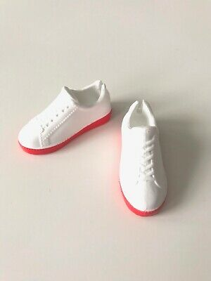 CREATABLE WORLD ~ SHOES ~ RED HI-TOP TENNIS SNEAKERS MATTEL DOLL ACCESSORY