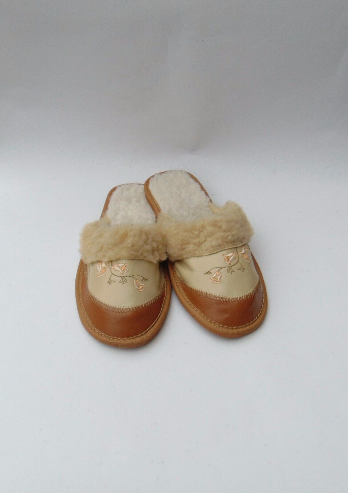 Ladies leather slippers Product* warmed * Eu Product* slippers size 7 d5e4aa