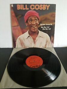 BILL-COSBY-MY-FATHER-CONFUSED-ME-VINYL-LP-CAPITOL-RECORDS-1977-ORIGINAL-EXCELL