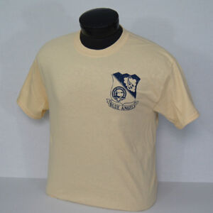 US-NAVY-BLUE-ANGELS-1946-Team-Crest-and-F-6F-Hellcat-Vintage-T-shirt
