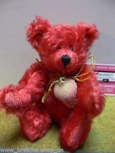 Amber Teddy Earth Bear Ca.17 Cm Fabriqué En Allemagne